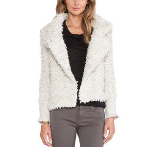 Iro Caty Button Front Jacket in Ecru Size 36